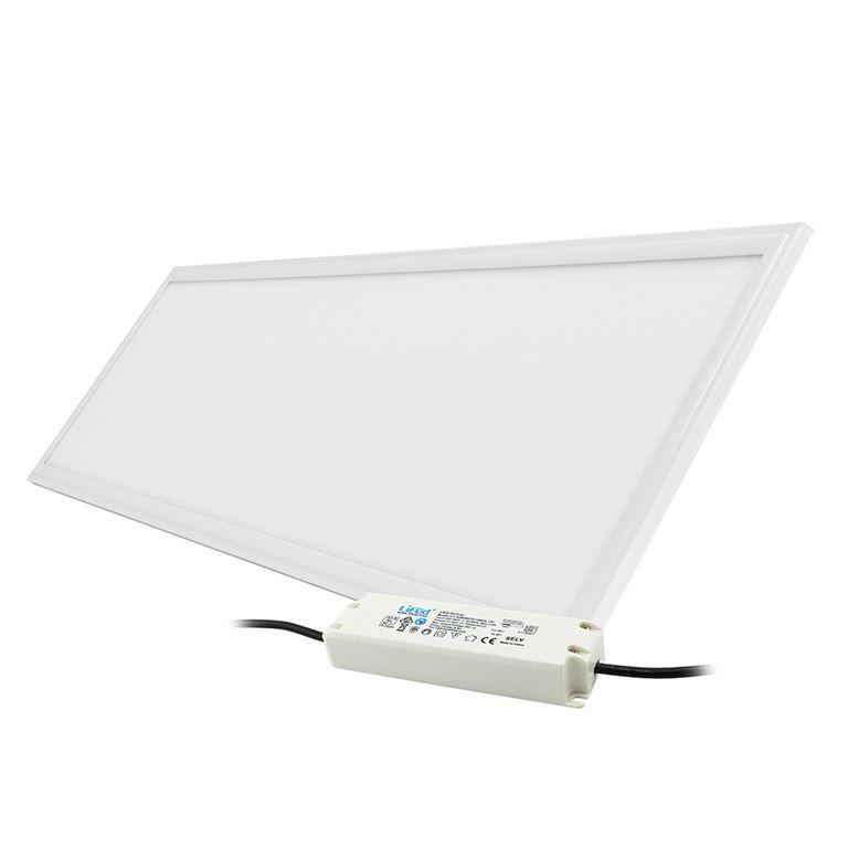 led panel ledpan pro 120 x 30 cm 40w 4000k 4000lm b l stm vateln 1 10v. Black Bedroom Furniture Sets. Home Design Ideas
